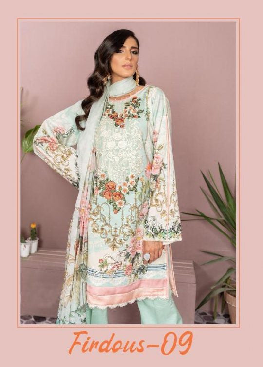 Deepsy Firdous Vol-9 Pakistani Style Suits Catalog Collection