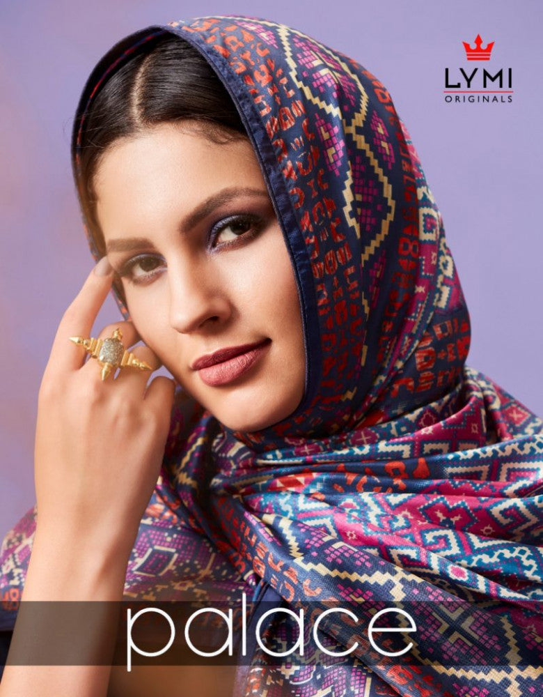 Lymi Originals Palace Silk Gown With Dupatta Catalog