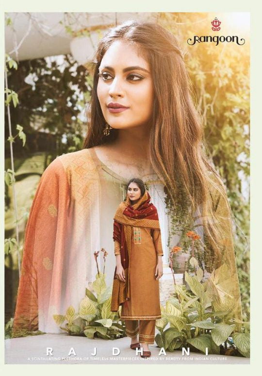 Kessi Rangoon Rajdhani Readymade Salwar Suits Catalog