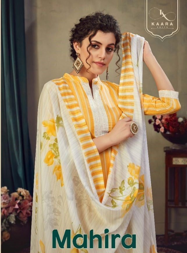 Kaara Suits Mahira Pashmina Winter Dresses Catalog Collection