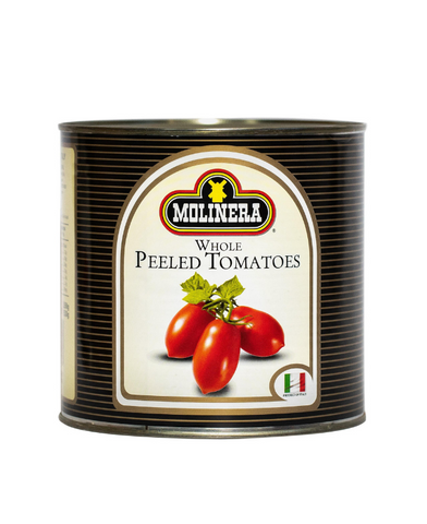 Molinera Whole Peeled Tomatoes 2.55kg