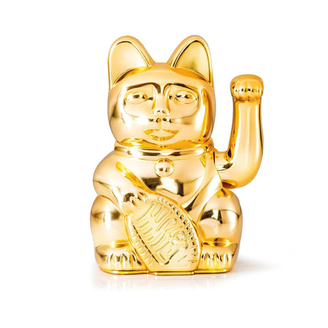 Lucky Cat - Glossy Gold