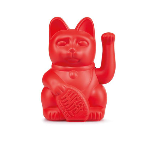 Lucky Cat - Rot
