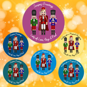 Christmas Nutcracker Stickers