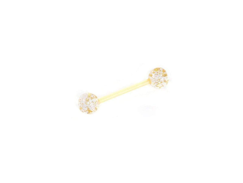 Piercing-Dealer Giallo Piercing Lingua <br> Originale