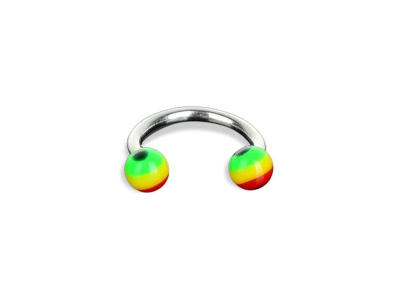 Piercing-Dealer Multicolore Piercing Sopracciglio <br> Anello