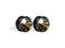 Piercing-Dealer Nero / 6mm Plug Orecchio <br> Dinosauro