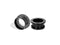 Piercing-Dealer Nero / 6mm Plug Orecchio <br> Orientale