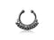 Piercing-Dealer Nero Piercing Finto Naso <br> Diamanti Swarovski®