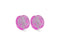 Piercing-Dealer Rosa / 6mm Plug Orecchio <br> Rosa