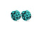 Piercing-Dealer Turchese / 6mm Plug Orecchio <br> Turchese