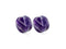 Piercing-Dealer Viola / 6mm Dilatatore Orecchio <br> Viola