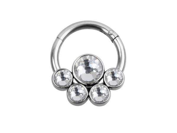 Piercingseo Bianco Piercing Anti-Trago <br> Anello