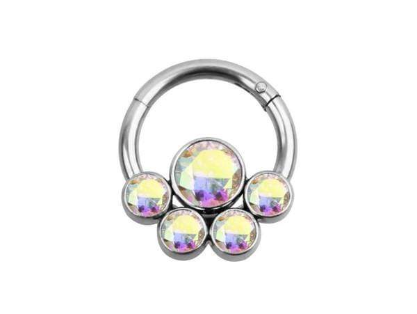 Piercingseo Multicolore Piercing Anti-Trago <br> Anello