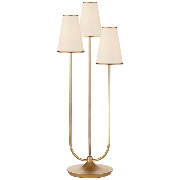 Montreuil Triple Table Lamp by AERIN
