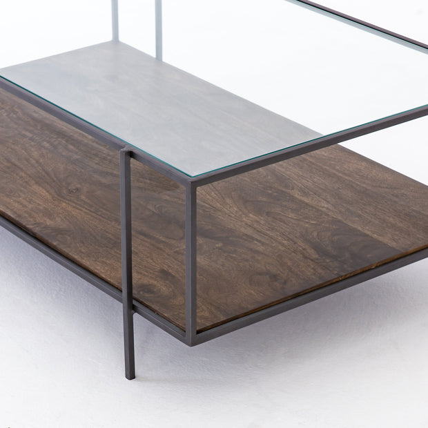 Byron Coffee Table In Aged Brown