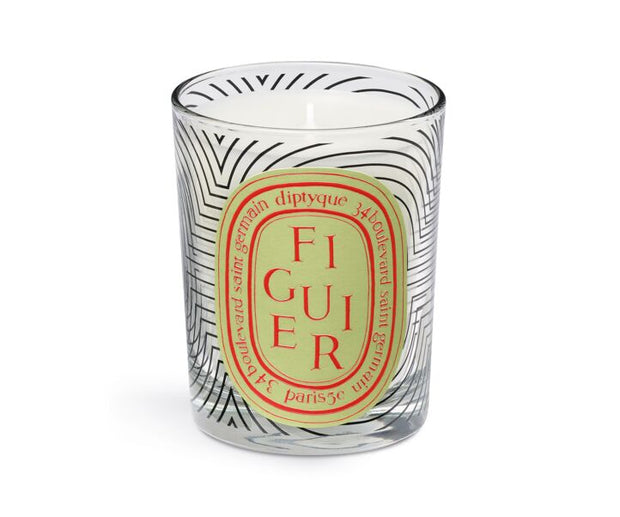 Limited Edition Dancing Oval Figuier Scented Candle