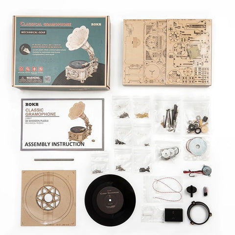 classic gramophone package list