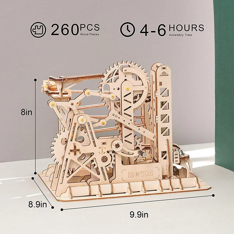 lift coaster 4-5 hours assembly time