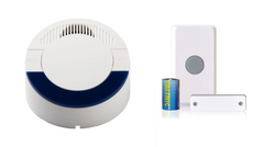 Wireless Push Button with Chime and Light