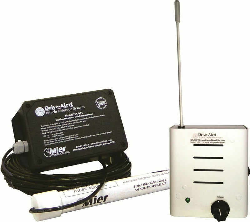 Mier DA100 Wireless Magnetic Vehicle Driveway Alert