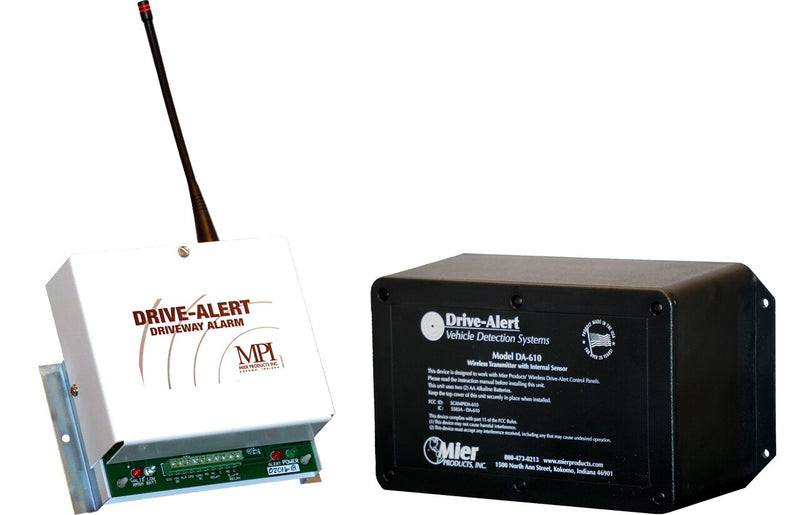 Mier DA600 Wireless Magnetic Vehicle Driveway Alert