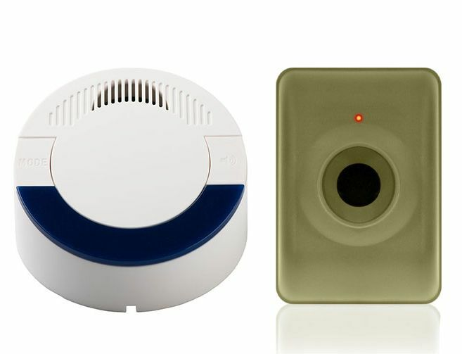 Dakota Alert DCMA4000 Motion Sensing Wireless Driveway Alarm System