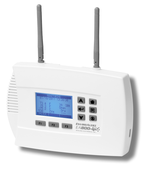 Winland EnviroAlert EA800-IP On Premise and Cloud Sensor Monitor with Alarm