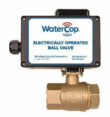 WaterCop 12VDC Motorized 1 Inch Water Shut Off Valve