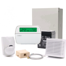 DSC Alarm Starter Kit, 8-32 Zone, RFK5500 Keypad, PIR, Battery, Siren (KIT32219NT)