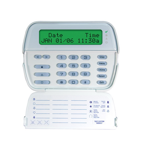 DSC Wired Keypad, Full Message Display, English (PK5500ENG)