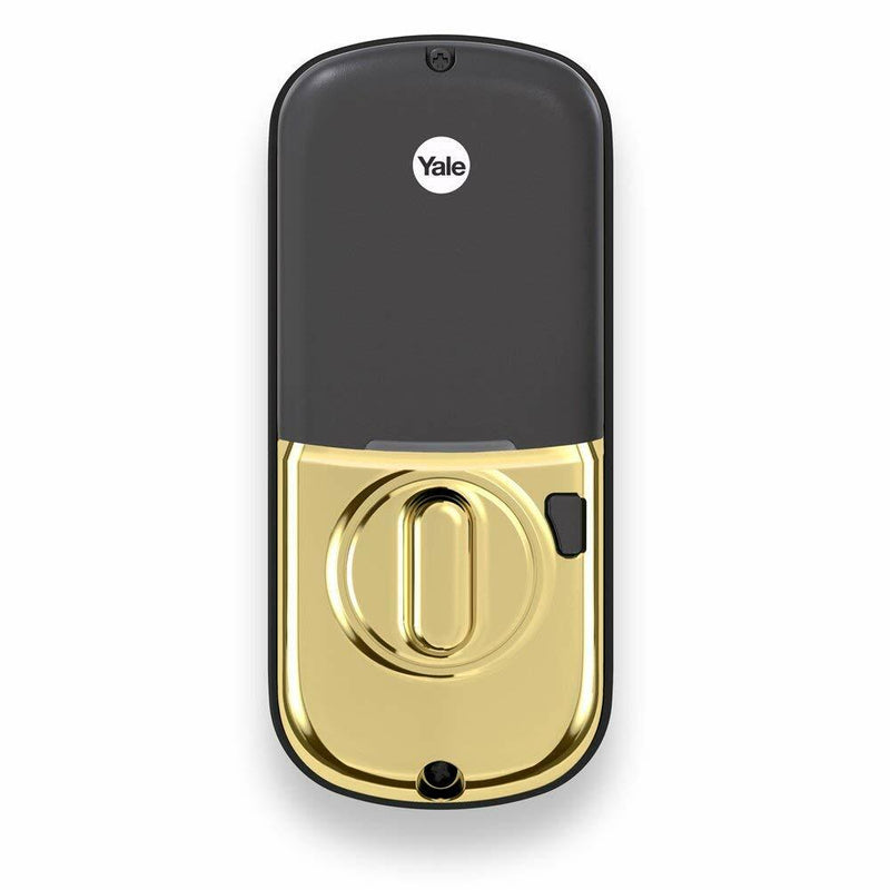 Yale YRD226-ZW2-605 Touchscreen ZWave Deadbolt, Bright Brass