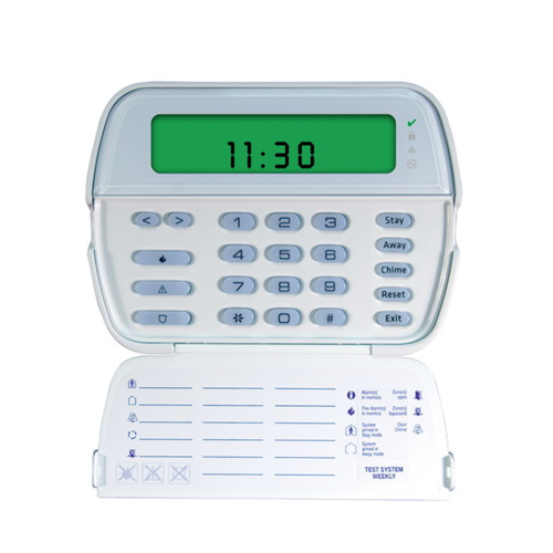 DSC Wired Keypad, Icon Display, English