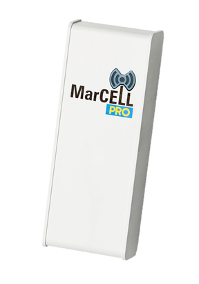 MarCell PRO Cellular Temperature Alarm with Water Sensor, Dry Contact