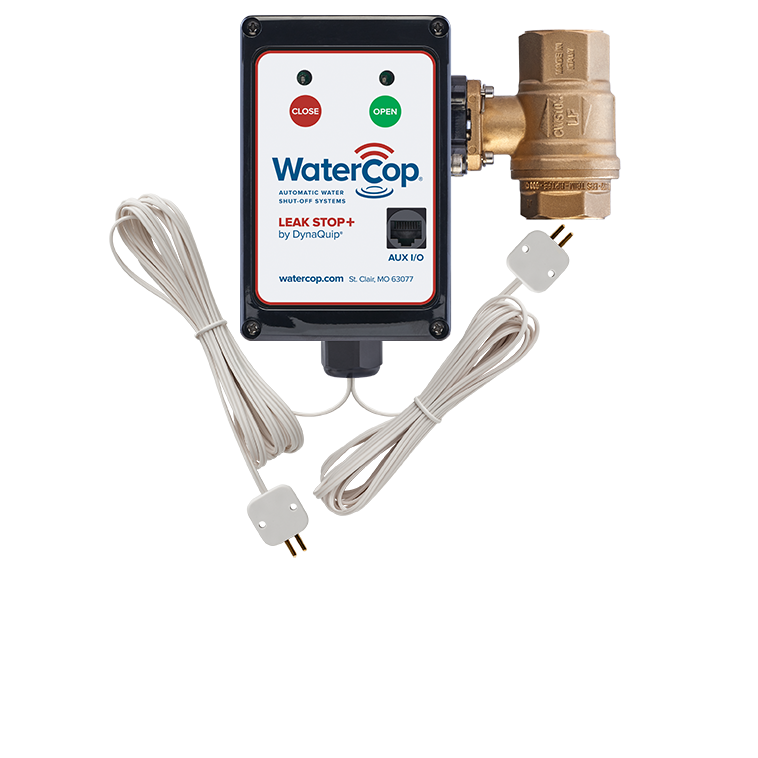 Watercop Leakstop Plus with Alarm Output and RJ45 Jack, 3/4 Inch