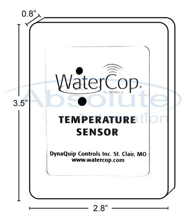 WaterCop WCDFS2  Wireless Twin Probe Water Leak Sensor