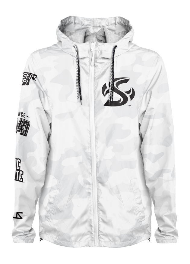 Sac State - Project: Grayscale Packable Windbreaker