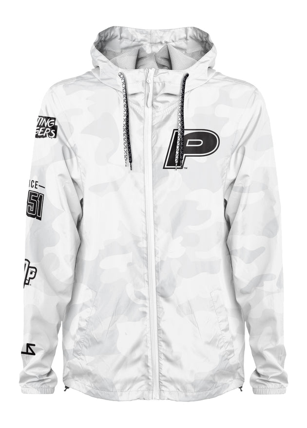 Pacific Tigers - Project: Grayscale Packable Windbreaker