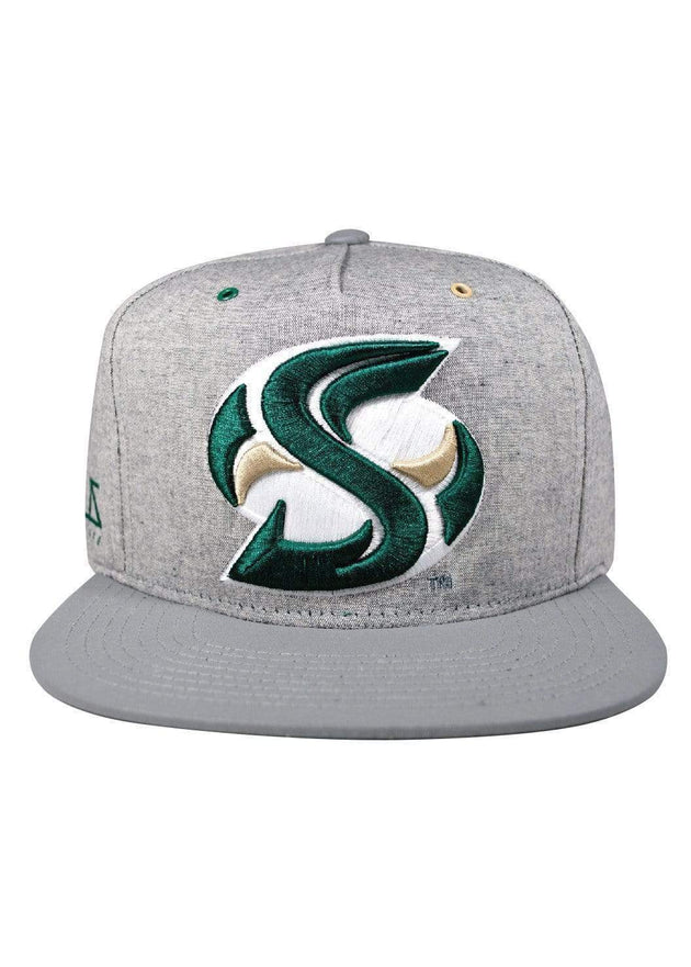 Sacramento State Hornets Sac State Grey Matter 3M™ Sac State Snapback [Limited Edition] Cap Hat by Zeus Collegiate