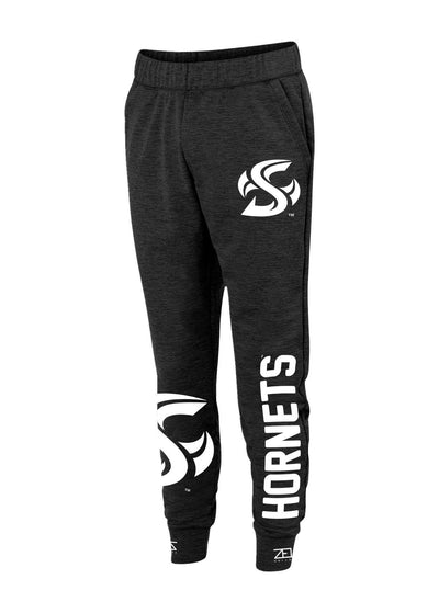 Sacramento State Hornets Sac State Hornets High Key Fleece Jogger Sweatpants by Zeus Collegiate