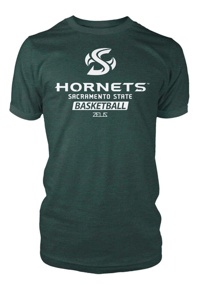 Sacramento State Hornets Sac State Basketball Division I T-shirt by Zeus Collegiate