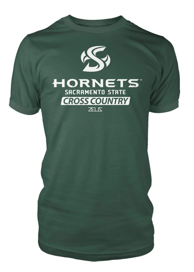 Sacramento State Hornets Sac State Cross Country Division I T-shirt by Zeus Collegiate