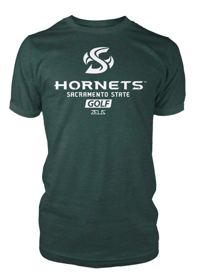 Sacramento State Hornets Sac State Golf Division I T-shirt by Zeus Collegiate