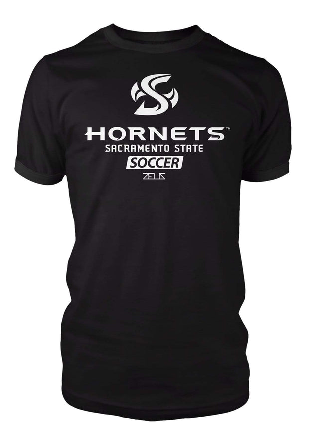 Sacramento State Hornets Sac State Soccer Division I T-shirt by Zeus Collegiate