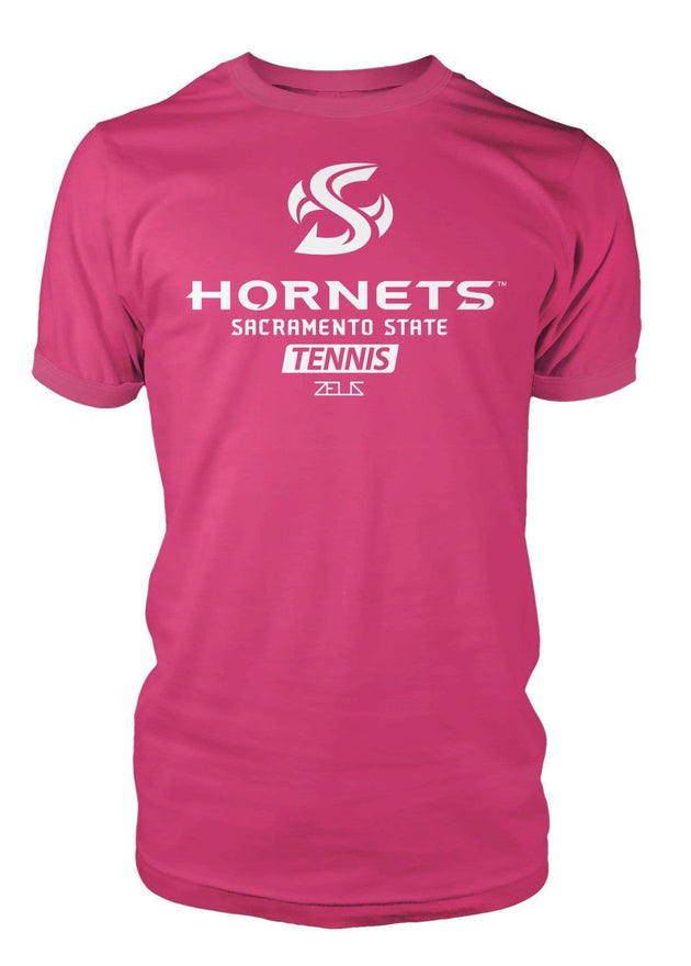 Sacramento State Hornets Sac State Tennis Division I T-shirt by Zeus Collegiate