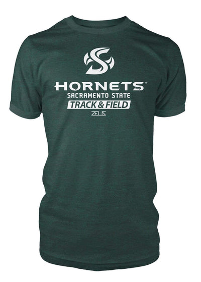 Sacramento State Hornets Sac State Track & Field Division I T-shirt by Zeus Collegiate