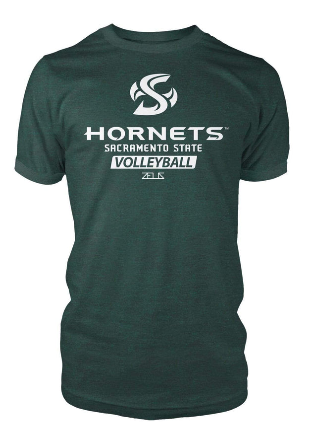 Sacramento State Hornets Sac State Volleyball Division I T-shirt by Zeus Collegiate