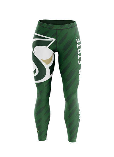 Sacramento State Hornets Sac State Undefeated Leggings by Zeus Collegiate