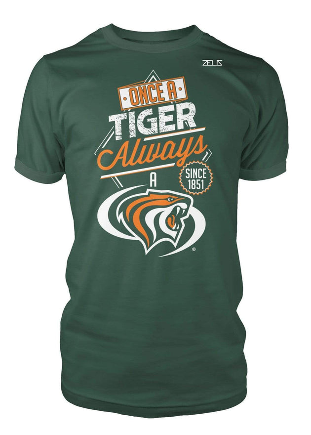 University of the Pacific Tigers Always A Tiger Powercat T-Shirt by Zeus Collegiate