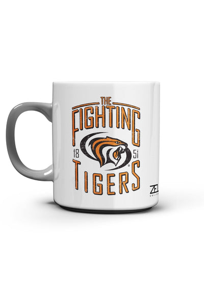 University of the Pacific Tigers Fighting Tigers Mug by Zeus Collegiate